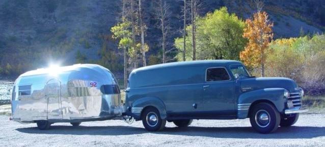 Airstream trailers vintage mine, someone