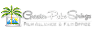 Greater Palm Springs Film Alliance and Film Office Logo