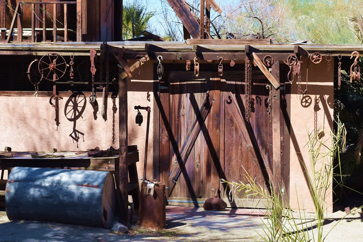 Rustic Tool Shed Coachella Movie Ranch