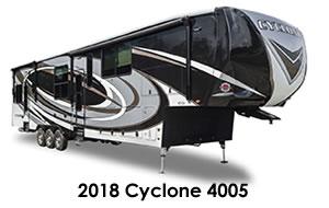 2018 Cyclone 4005
