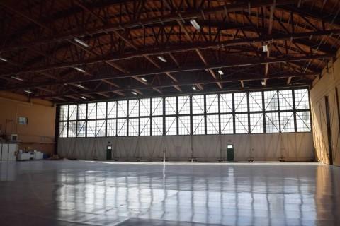 1940s Airport Hanger