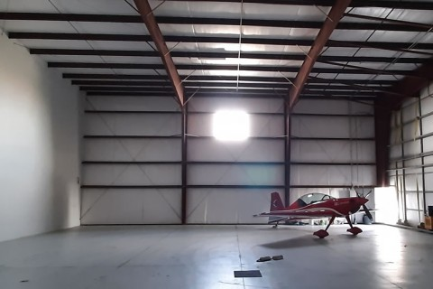 Small Airport Hanger